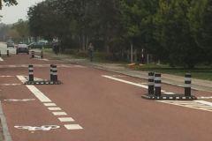 Standard helle - indsnævring af bred vej