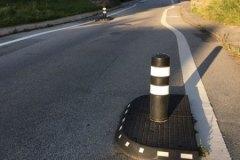Standard helle - indsnævring af vejen