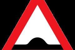 Vejskilte - Bump