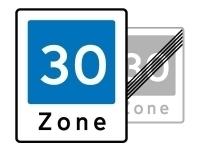 Vejskilte - zone