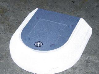 TDJ helleblokke - endeelement 50x50 cm