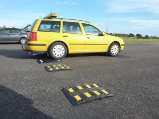 Vejdirektoratet tester TDJ Vejbump